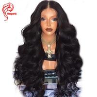 Hesperis 180% Density Lace Front Human Hair Wigs Brazilian Remy Hair 13x6 Deep Part Body Wave Lace Front Wigs For Women Prepluck