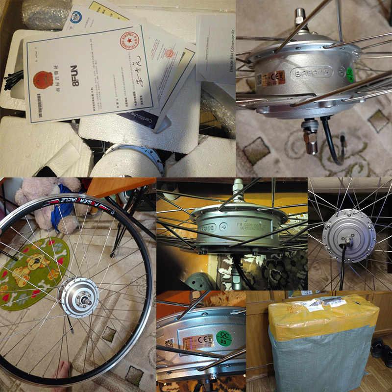 BAFANG 48V 36V 250 W-500 W avant moteur électrique roue 8FUN Brushless électrique vélo moteur roue Bafang ebike bicicleta électrique