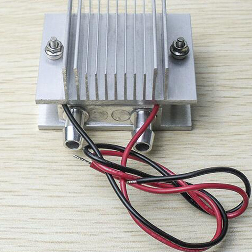 US $12 47 19% OFF|DIY TEC1 12706 Thermoelectric Peltier Module Water Cooler  Cooling System 60W Semiconductor Refrigeration Plate Instrument Parts-in
