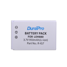 DuraPro 1pc 950mAh R-IG7 Camera Battery for Logitech Harmony LOH880 One 900 720 850 880 885 890 Pro H880 Universal Camera
