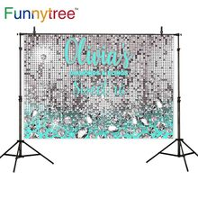 Funnytree background backdrops glitter diamond luxurious sweet 16 birthday party celebrate photocall photography wallpapers