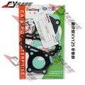 Frete Grátis Para Yamaha XV125 junta da cabeça Do Cilindro Da Motocicleta Meio Reparação almofadas