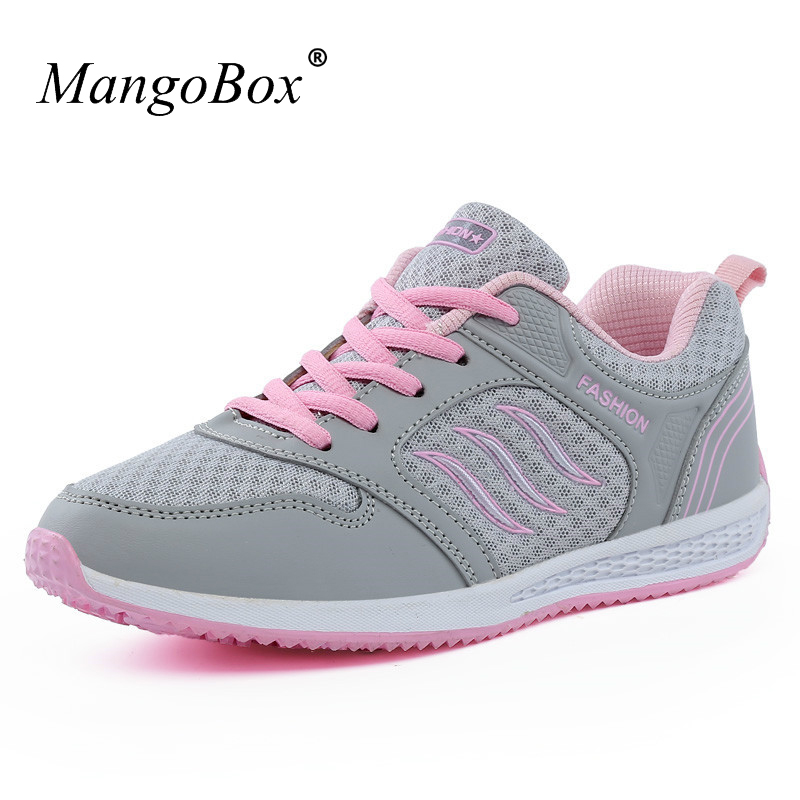 KERZER Women Athletic Shoes For Walking Jogging Sneakers Red/Pink Original Sport Shoes L ...