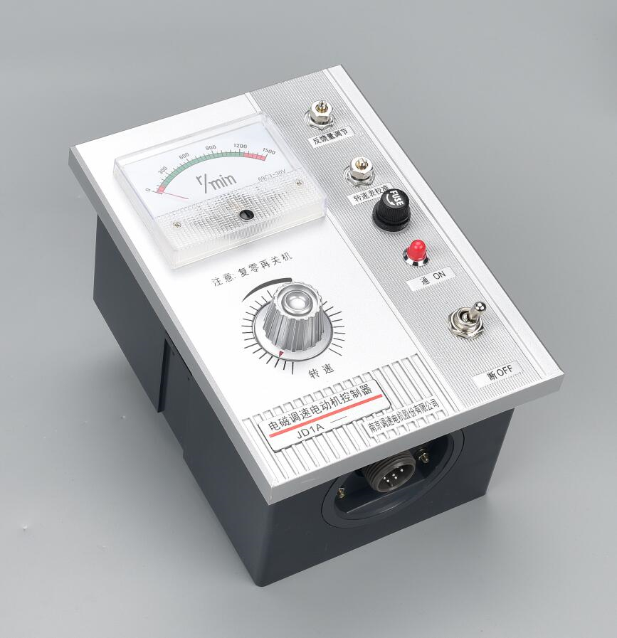 все цены на Motor governor JD1A-11 electromagnetic governor motor speed controller 220v adjustable speed онлайн