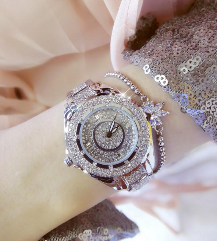 Women Diamond Stone Watches