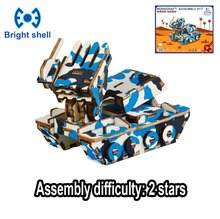 hot deal buy diy arts and 3d chariot handmade wooden craft toys party arts puzzles model decoration for children kid toy birthday best gift