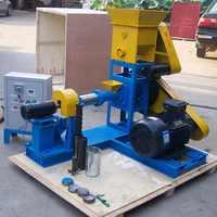 80-100kg/h Dog Floating Fish Pellet Mill Machine Extruder