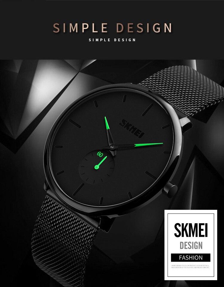 SKMEI Fashion Men Quartz Watch Children Digital Watch Big Dial Waterproof Parent-child Watches relogio masculino 9185 1455 Set 5