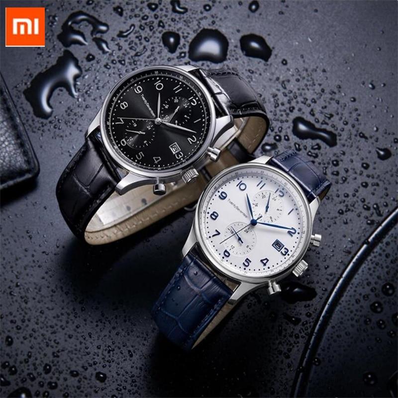 Xiaomi TwentySeventeen Light Business Quartz Watch Multi function Dual time zone 24 hour display Casual Sport