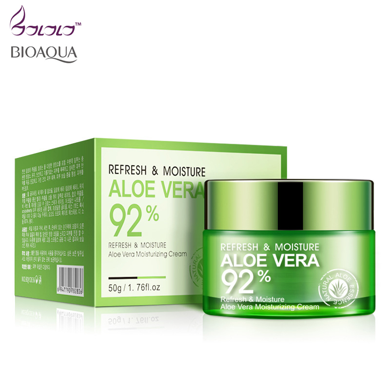 Beauty Nature Aloe Vera Skin Cream with Rich Aloe repair Soothing Moisturizer Gel Essence Hyaluronic acid Face Creams Skin Care fulljion aloe hyaluronic acid moisturizer aloe vera pure liquid essence serum face care acne treatment whitening anti wrinkle