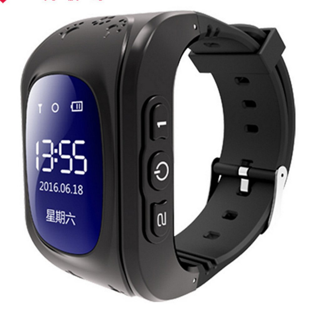 Q50 Smart Child Watch GPRS Tracker SOS Call Anti Lost Monitor Pedometer Kids Smart Wristwatch Support SIM Phone Call 2019