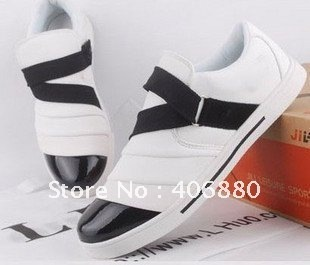 Best selling!Fashion Korean Martin British men's rivets tide sneakers shoes Free Shipping 1pair