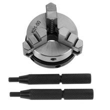 K01-50 мини 3 кулачковый токарный патрон 50 мм M14 ручная самоцентрирующаяся резьба крепление для токарного станка