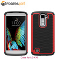 Crash-proof&shock-proof Case 100% New High Quality Protector TPU+PC Case Back Cover for LG K10
