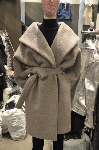 Online Shop 2015 Winter women's designer wool coats Blends Medium ...