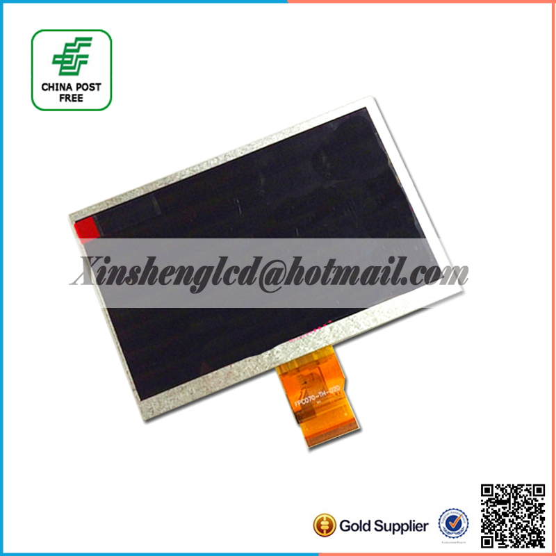 FPC070-50-02D 7 inch LCD Screen for tablet pc LCD Display