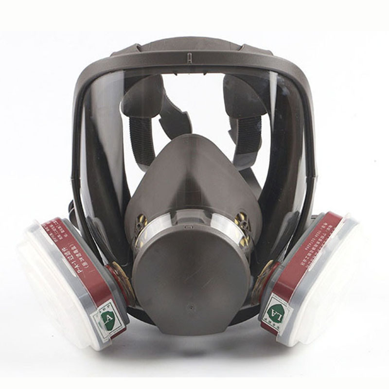 Gas masks Full Face Respirator for Industry Spraying Painting Chemical Pesticides Formaldehyde Haze Fog 6800 Protective