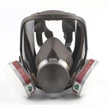 Maski gazowe pełna twarz Respirator dla przemysłu rozpylanie malowanie pestycydów chemicznych formaldehydu Haze mgła 6800 maski ochronne tanie tanio Aolamegs WORK 6800 Respirator Gas masks Full Face Respirator Gas Mask Multi Function Silicone Mask for Industry Painting Spraying