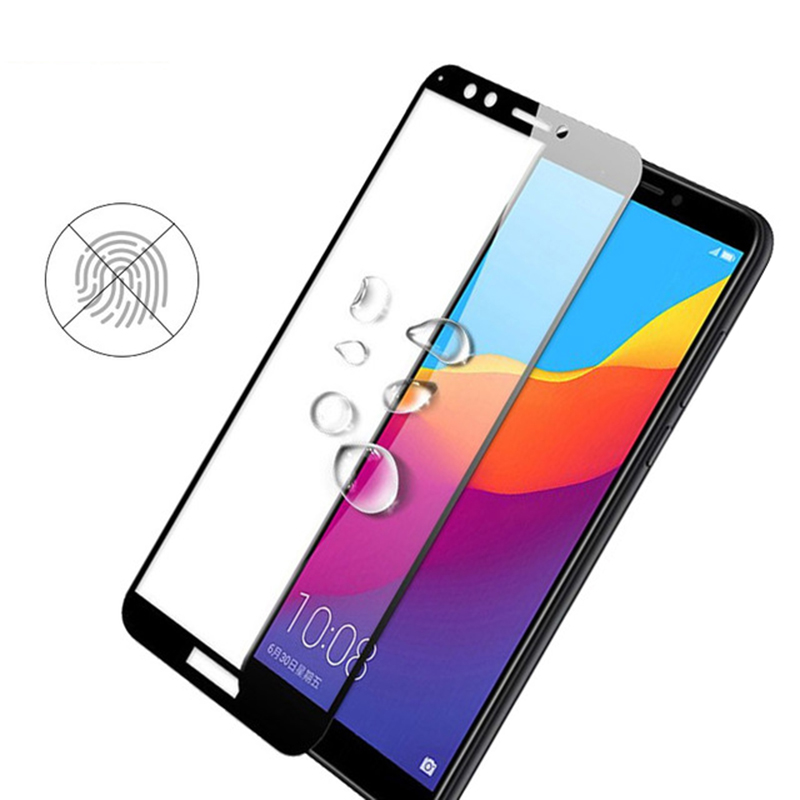 Image 4 - Protective Glass on Honor 7A Tempered Glass For Huawei Honor 7A Pro 7C 7X Honer A7 Honor7a Dua L22 Films Safety Screen Protector-in Phone Screen Protectors from Cellphones & Telecommunications