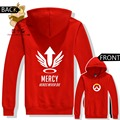 game hoodies  hot game watch over character MERCY HEROS NEVER DIE ac213