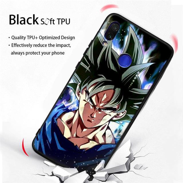 Dragon Ball Super Soft TPU Cover Case For Xiaomi Redmi Models