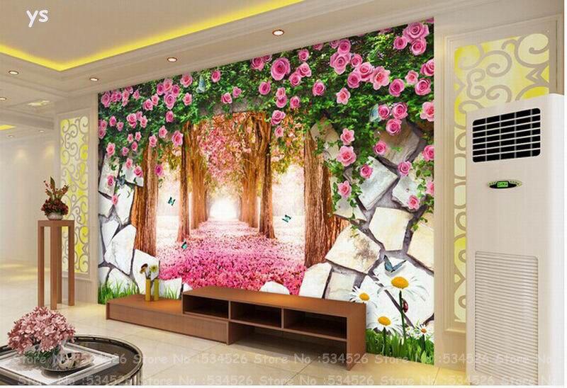 Photo wallpaper landscape papel de parede wall tapet desktop 3d