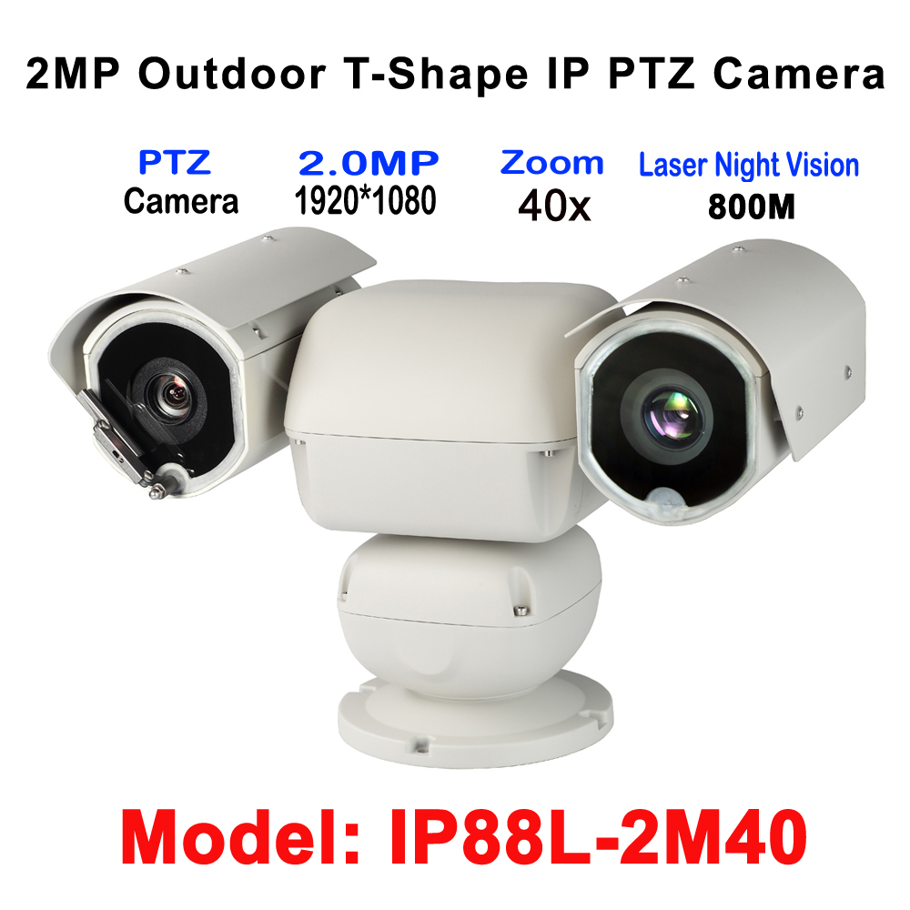 40x Zoom 2MP Heavy duty HD IP PTZ Surveillance Camera Long Range 800M Laser With 6.8-272mm Lens Waterproof Low Temprature Use ys 138no nc ansi standard heavy duty electric strike size 124 x 32 x 33 mm