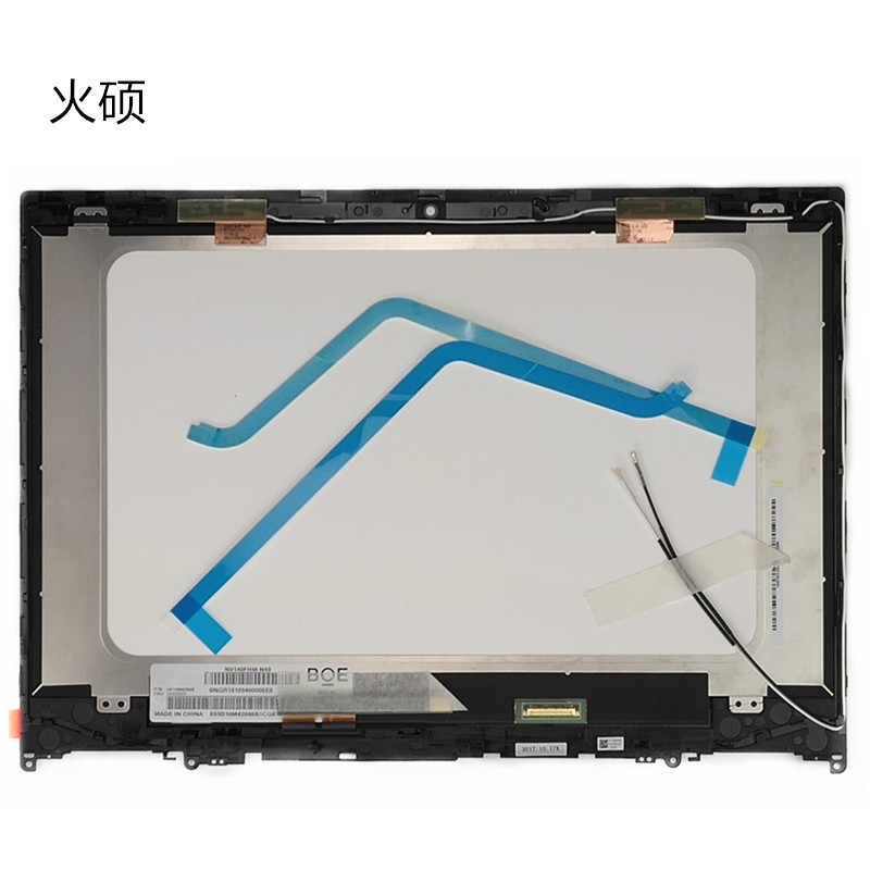 US $169 0 |14'' LCD Touch Screen Digitizer Assembly For Lenovo Flex 5 14  w/Bezel Antennas P/N 5D10N45602 Ships Today 100% New Tested -in Laptop LCD