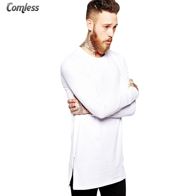 Mens T shirts Fashion 2016 Long Sleeve T shirt Extra ...