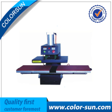 Air heat press machine double place for size 40*60cm