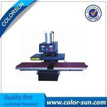Air heat press machine double place for size 40*60cm