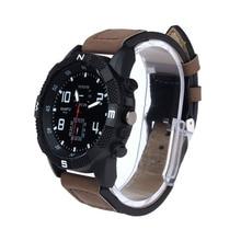 hot amazing practical beautiful classical Fashion Luxury Men's Canvas strap Large Dial Military Sport Quartz Wrist Watch P*21