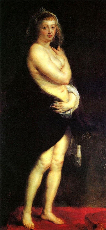 Ручная роспись женский картина маслом воспроизводства Home Decor Wall Art Венера в шубе голая Фея высокое качество не оформлена