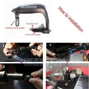 Image 4 - LMoDri אופנוע יד משמרות לכלוך אופני Handguard קטנוע שמשות נהיגה נופל ידיים הגנה 22mm כידון 2 pcs/pair