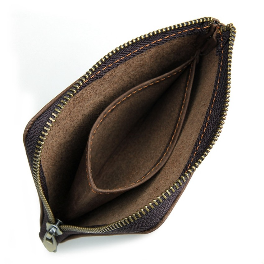 Vintage Genuine Leather Coin Pocket Unisex Wallet05