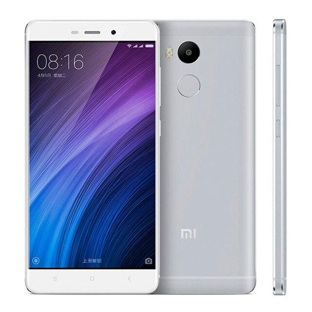 Original Xiaomi Redmi 4 Pro 3GB RAM 32GB ROM Mobile Phone Snapdragon 625 Octa Core CPU 5.0″ FHD 13MP Camera 4100mah MIUI8.1