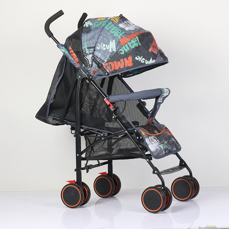 Abdo Yoyaplus Baby Ultra Light Can Sit Can Lie High End Landscape Umbrella Baby Trolley Summer Folding Light Stroller