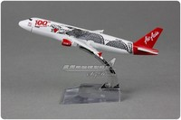 3pcs/lot Brand New 1/250 Scale Airplane Model Toys Asia Air Dragon Pattern Airbus A320 100th 16cm Diecast Metal Plane Model Toy