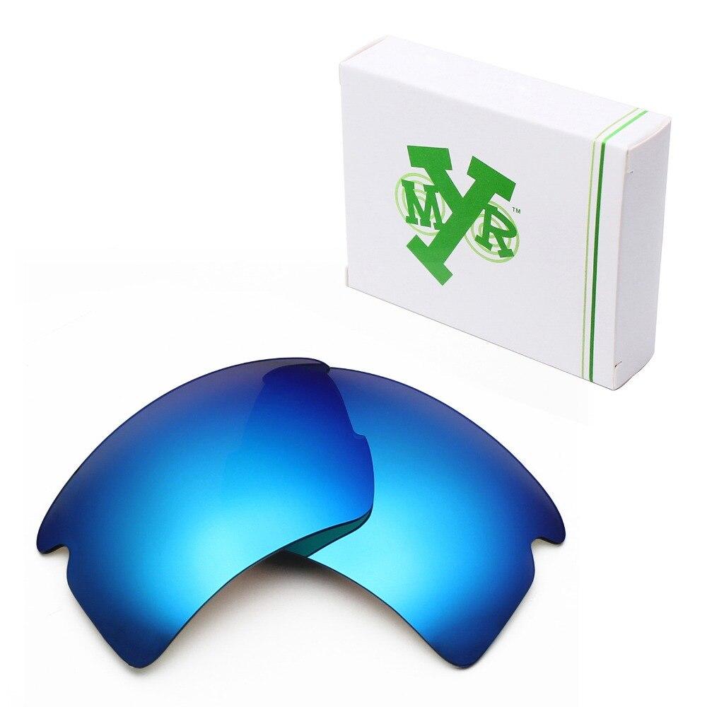 282e042645b47 Mryok polarizado Objetivos para Oakley Flak 2.0 XL Gafas de sol azul hielo