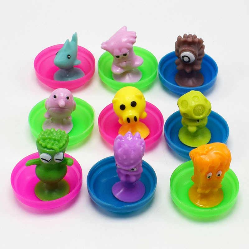 Sukers Cúpula miúdos Dos Desenhos Animados Animal Do Oceano Brinquedos Action Figure Boneca Cápsula Otário Ventosa Mini Coletor GYH