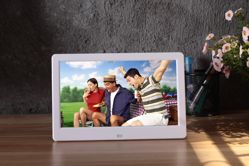 10 inch digital photo frames with holder 169 tft screen hd picture frame electronic