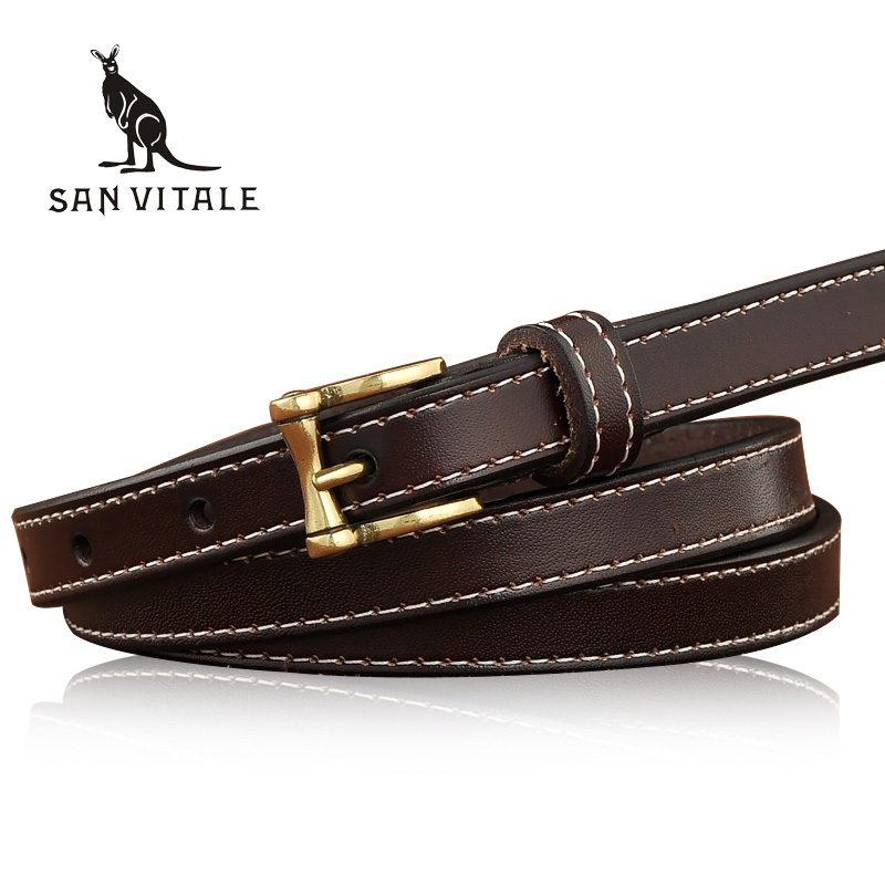 New Women Fashion <font><b>Belts</b></font> Genuine Leather <font><b>Belt</b></font> Woman Elastic Waistband Luxury Jeans Dress Female Top Quality Straps Ceinture Femme image