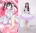 hot love live Yazawa Nico cosplay costume Lovely cos White Day clothing dress ACG558