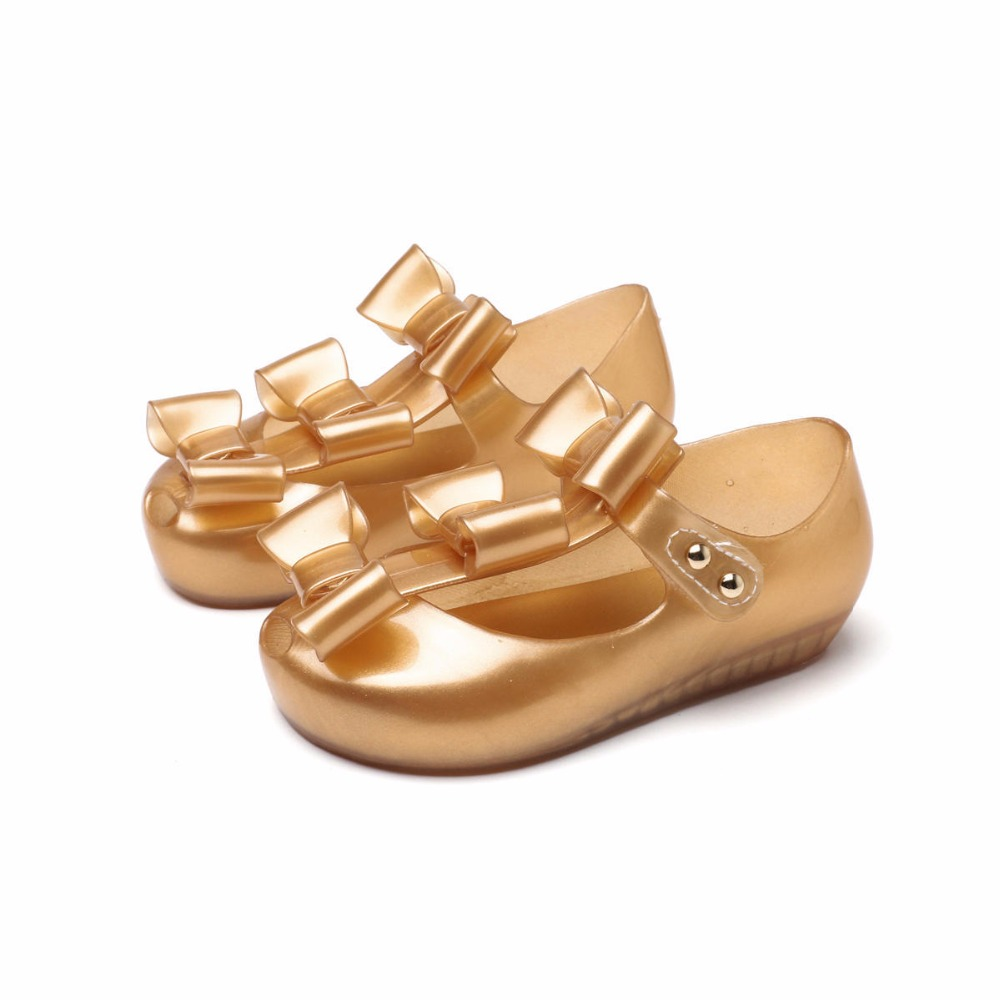 summer Fashion Children Girls Shoes sandalias Ultragirl Triple Princess Shoes bow knot casual sandals cute 3 color Flats shoes