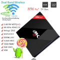 H96 pro + 3G/32G Android TV Box Amlogic Octa núcleo BT4.1 S912 Dupla Wi-fi Android 6.0 conjunto top box
