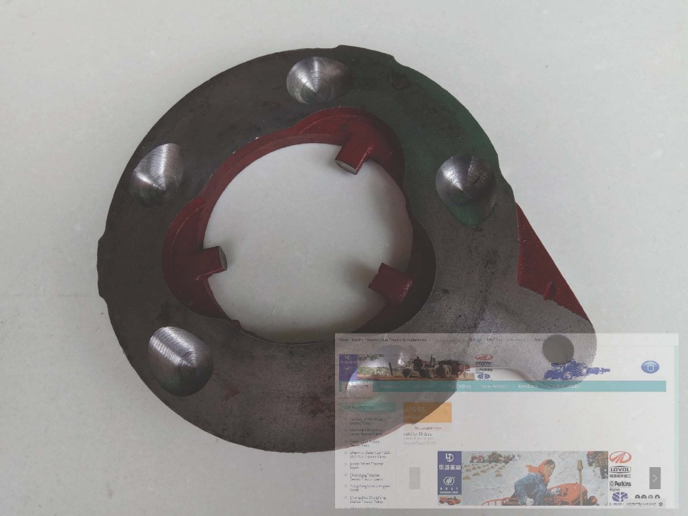 Dongfeng tractor parts, the brake plate, part number: used tractor parts