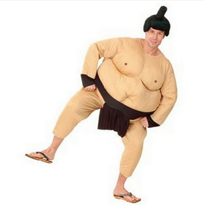 free shipping Halloween dress suit men stage game show adult Japanese Sumo suit