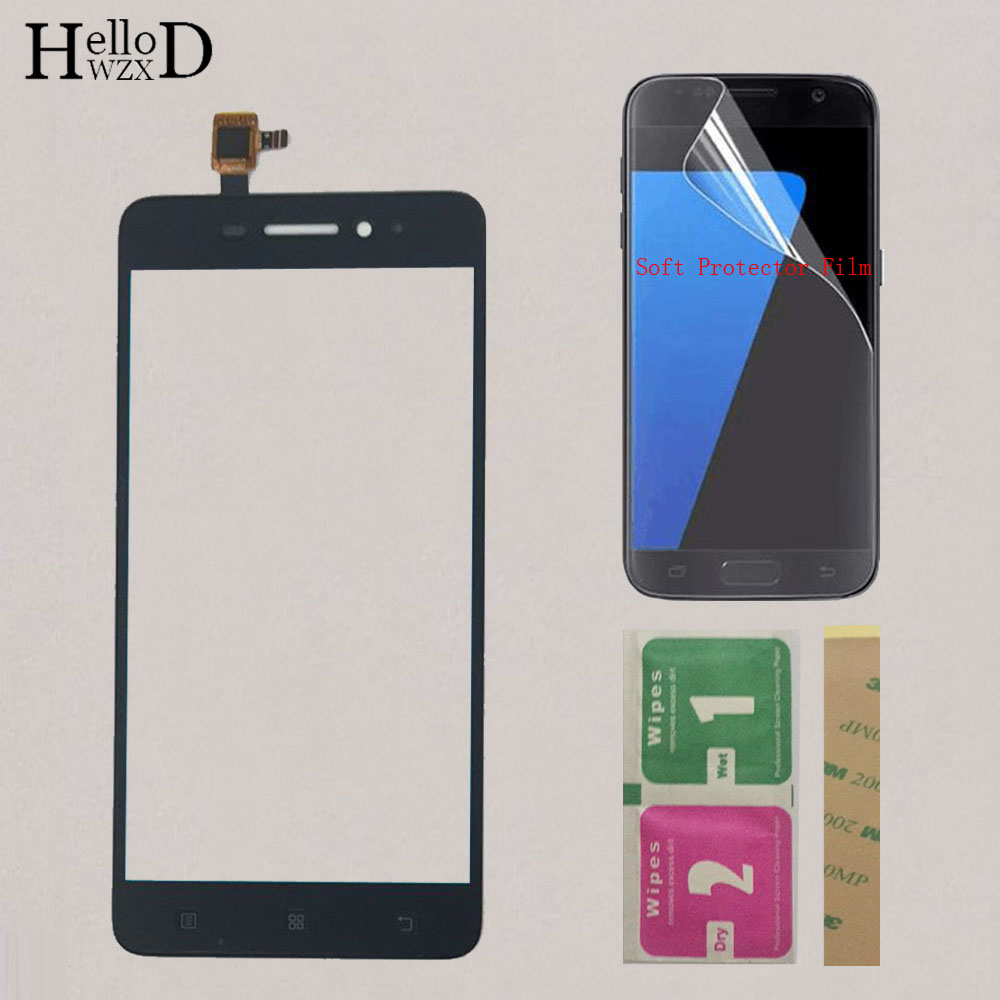 5.0'' Mobile Touch Screen Digitizer Panel For Lenovo S60 S60T S60W S60A Touch Screen Front Glass Lens Sensor Protector Film