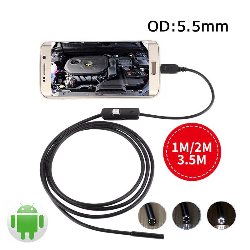Spiksplinternieuw 5.5mm Android USB Endoscoop Voor Smartphone Mini Camera Kabel Pijp MJ-56