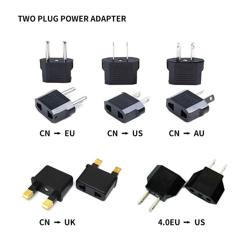 EU AU US UK Power Socket Converter Outlet 250V 10A Universal Travel Adapter International Power Adapt Plug Converter Outlet